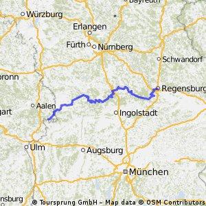 Dischingen - Regensburg