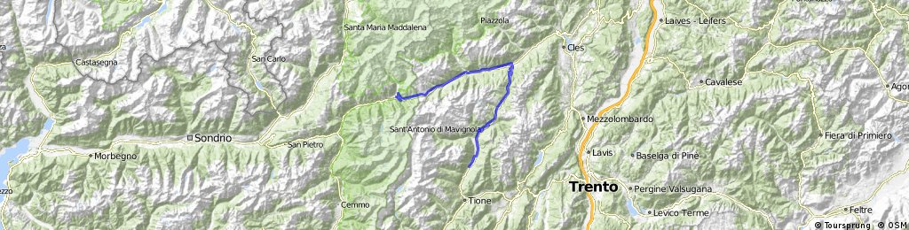 Alpencross Roadbike - Stage 5 - Ponte di Legno>>Spiazzo