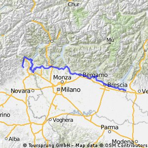Lakes of Lombardia and Piemonte