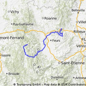 2. Tarare / Pays d'Olliergues-Col du Béal