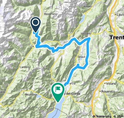 Alpencross Roadbike - Stage 6 - Spiazzo>>Riva del Garda