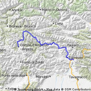 The dolomites west to east (part 2)