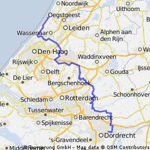 7. Dordrecht - Katwijk