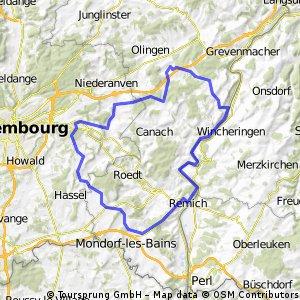 Sandweiler - Mosel Tour