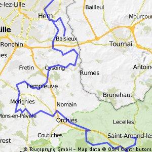 Paris - Roubaix in 3 Etappen (3b)