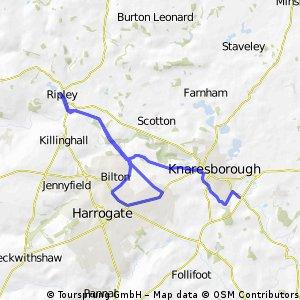 Knaresborough & Harrogate & Ripley