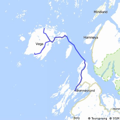 Helgeland Route 11 - Brønnøysund - Vega