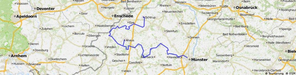RennFietsen Tour 2010 - 1. Etappe