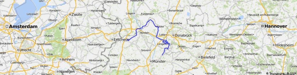RennFietsen Tour 2010 - 2. Etappe