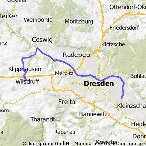 Wilsdruff - Dresden