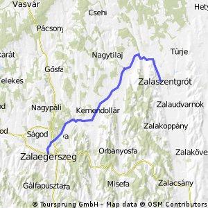 Zala2keréken 5. nap: Zalaegerszeg - Zalaszentgrót