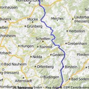 Deutschlandtour Teil 5, Amöneburg-Freigericht