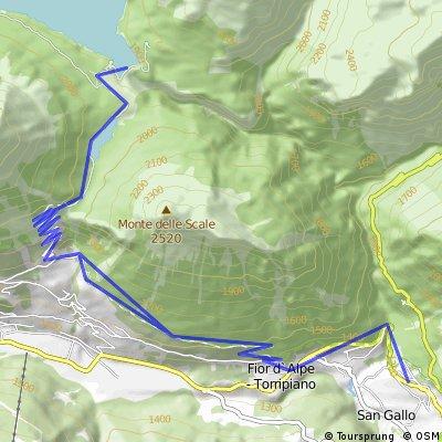 Bormio 2014 | trasa 5 - Lago di Cancano