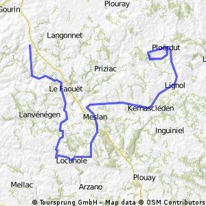3.Le Saint – Ploerdut (circuito finale 6 giri) km.109,6