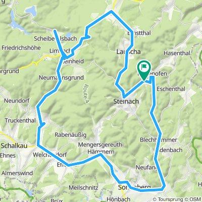 Thüringer Schiefergebirge 1