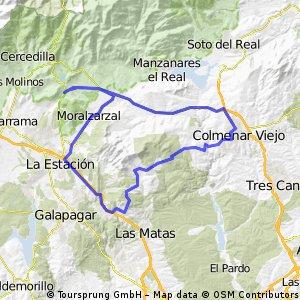 Vuelta a la Sierra de Hoyo