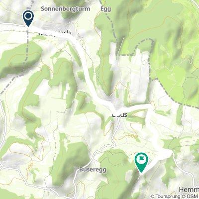 Bergeinzelzeitfahren: Maisprach-Farnsburg