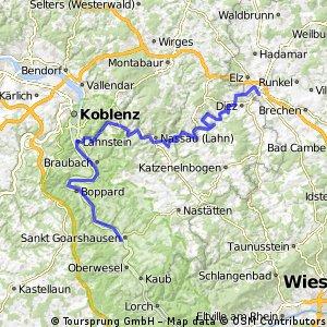 20140607 Limburg - St. Goarshausen