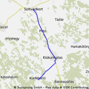 Túra - Soltvadkert (2014.06.09. hétfő)