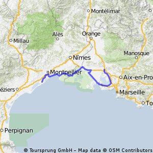 Frontignan - Salon-de-Provence (e12 TDF)