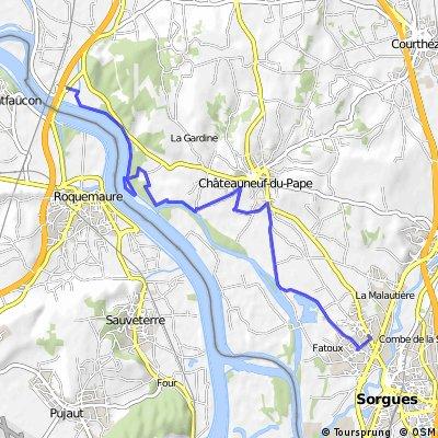 Podél Contre-canal