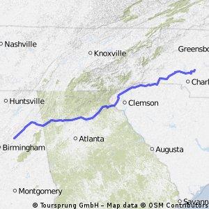 Alabama ride