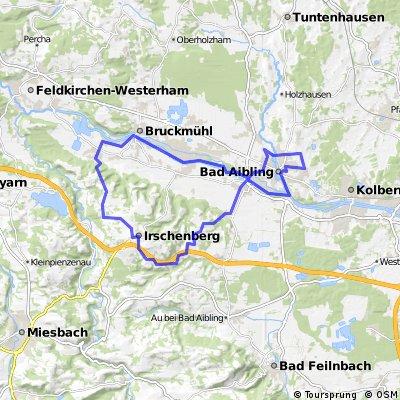 Bad Aibling - Irschenberg - Vagen