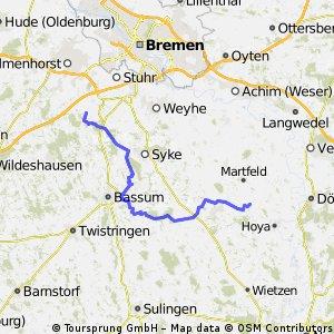 Wanderritt Hoyerhagen - Bürstel