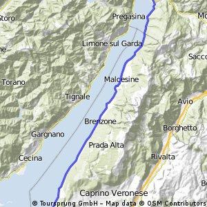 Jezioro Garda #3 Garda - Riva del Garda