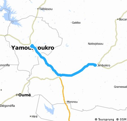 Yamassoukro-Dimbokro