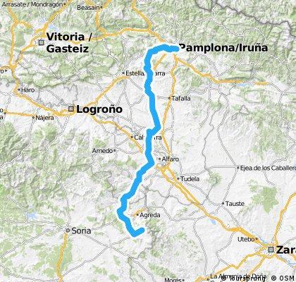 Cueva de Agreda - Pamplona