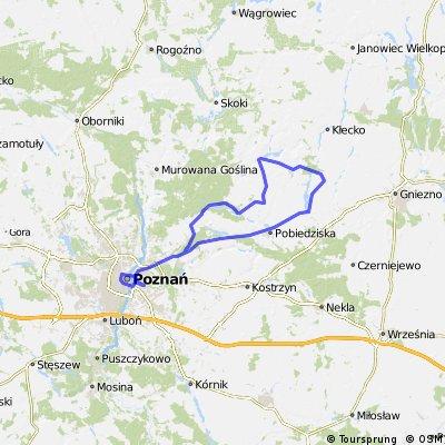 Poznań Bike Challenge Route
