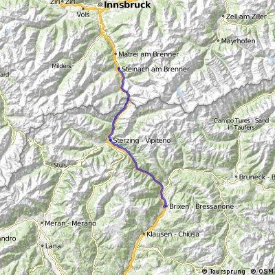 Tappa 4: Bressanone - Steinach