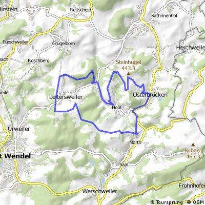 St. Wendel - Tour 6 (Leitersweiler-Hoof)