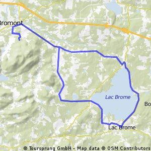 Bromont, Lac Brome, Bondville, Bromont