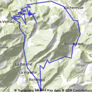 Col du Grand Taillet and Col du Corboer