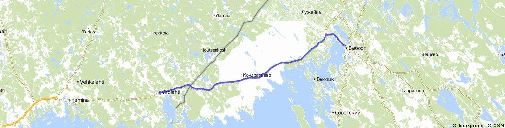 20140716 — Virolahti => Vyborg