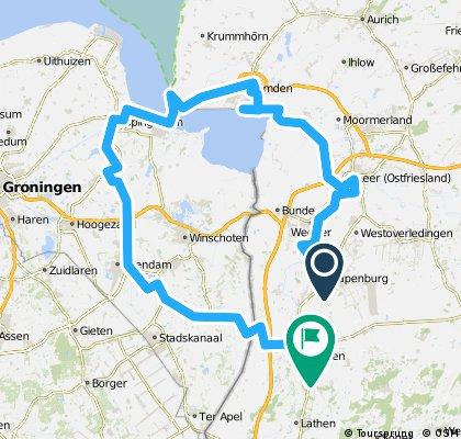 0806-Emsradweg, Papenburg-Emden/ Delfzijl-Dörpen