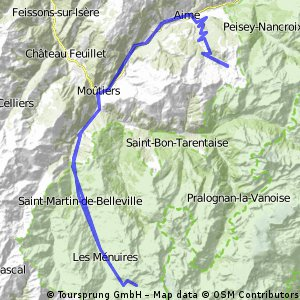 Bovec Vrsic Pass Kranska Gora Bled Bikemap Your bike routes