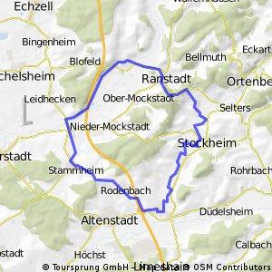 29km Dauernheim-Lindheim-Rundweg