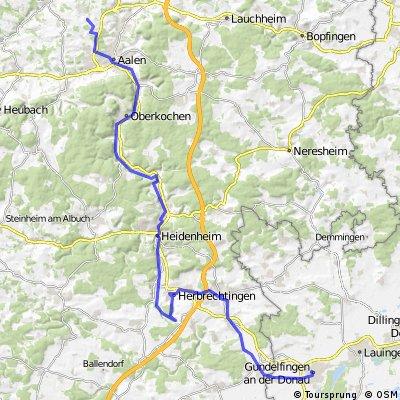 Jedermann Radtour 2014, 2. Etappe