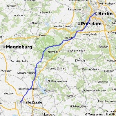ITF 2014 1. Etappe Berlin - Halle 176 km