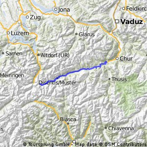 Rheintour Tag 1