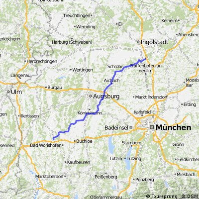 Mindelheim - Langenbruck