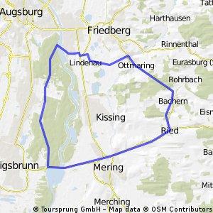 Feierabendrunde Richtung Königsbrunn