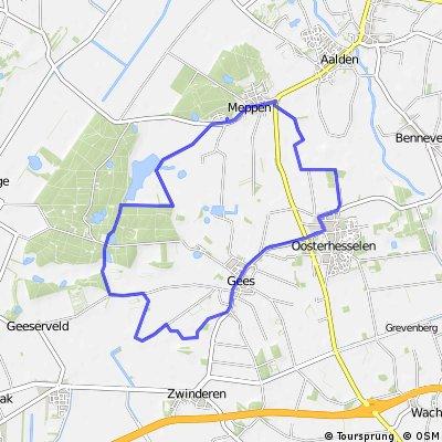 Geeserstroom-route