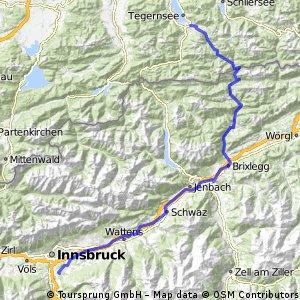 Alpencross - Tegernsee-Bozen - 1. Etappe