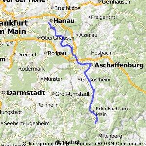 Weltradeln Hanau - Klingenbach
