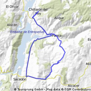 Chillarón - Sacedón - Casasana - Chillarón