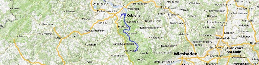 Oberwesel-Koblenz